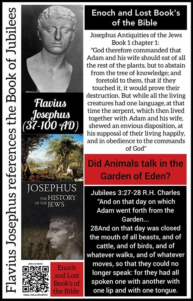 Josephus Alludes to Jubilees