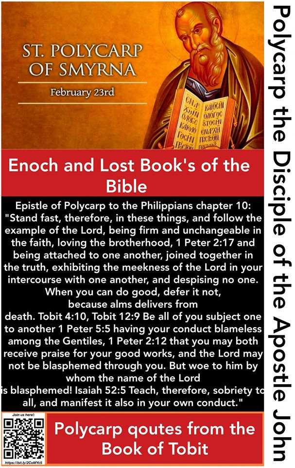 Polycarp Quotes Tobit